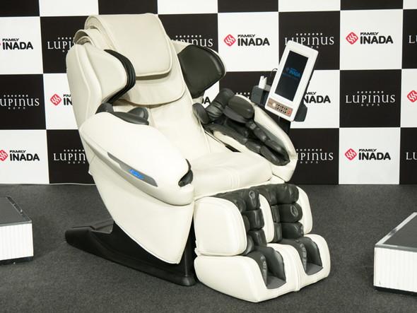 業界初の人工知能と通信機能を搭載したメディカルチェア「ルピナス FMC-LPN10000」