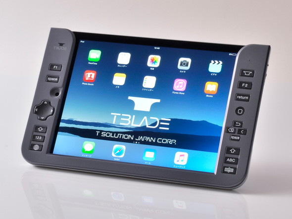 iPad air2/Pro 9.7専用のパンタグラフ式背面Bluetoothキーボード「T-BLADE」