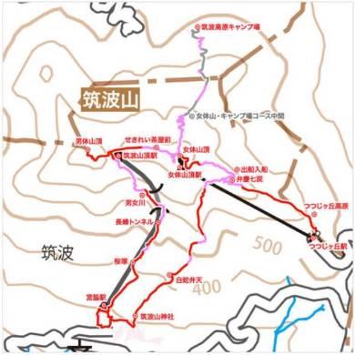 ドコモの日本百名山通信エリアマップ