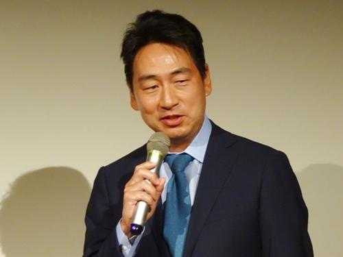 株式会社エムティーアイ取締役副社長の泉氏
