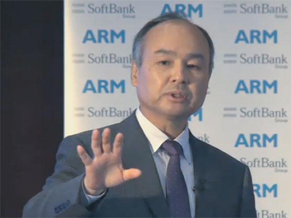 ソフトバンク、ARMを買収