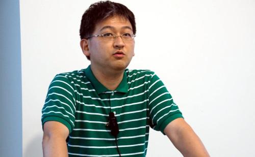 エンジニアの大内宗徳氏