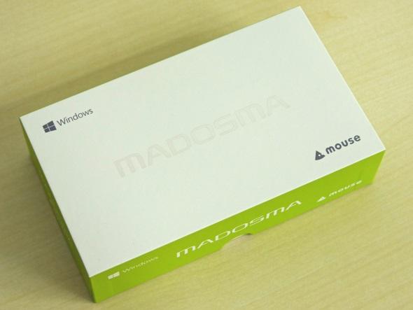 MADOSMA Q601のパッケージ