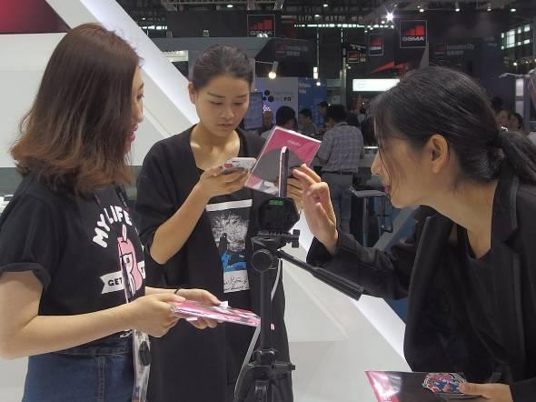中国女子スマホの最新トレンド