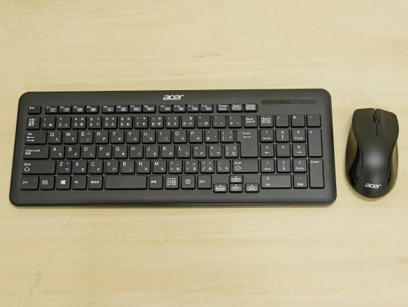 ワイヤレスキーボードとワイヤレスマウス