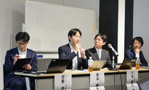 画像左からイオンモバイルの河野氏、OCN モバイル ONEの岡本氏、BIGLOBE SIMの大谷氏、mineoの森氏