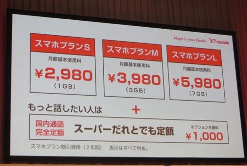 「スマホプラン」は月額2980円から5980円までの3段階で提供