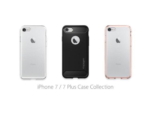 「iPhone 7/7 Plus用」とされるSpigenのケース