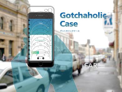 iPhone 7向けソフトケース「ゲットホリックケース」
