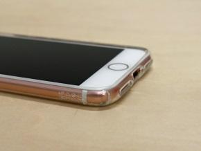 エアクッション(iPhone 7を装着してケースの外側から