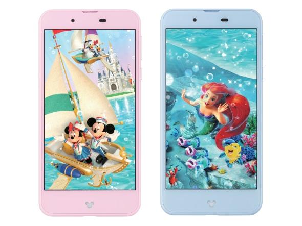 Disney Mobile on docomo DM-01J(正面)