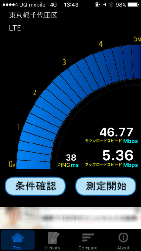 UQ mobile、iPhone