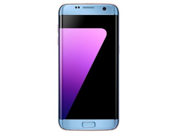 Galaxy S7 edgeの新色「Blue Coral」