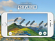 AR(拡張現実)で山頂や町の名前をカメラ画像に重ねられる「ViewRanger」アプリ