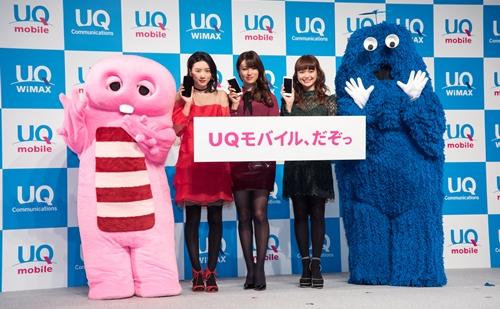 「UQ mobile」が急激に台頭