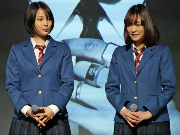 広瀬すずさんと大原櫻子さん