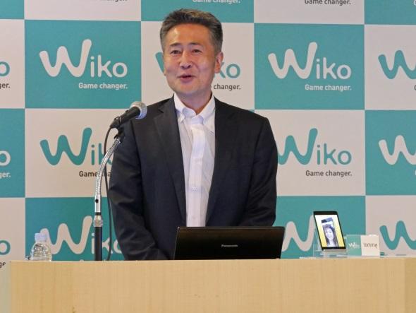 ウイコウ・ジャパンの前田社長