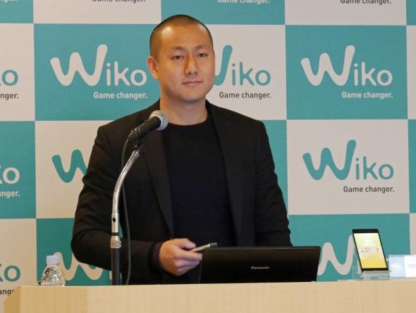 Wiko Asia Hubのステファン・フェン(Stephen FENG)氏