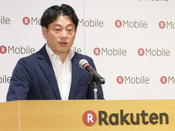 楽天 執行役員 楽天モバイル事業の大尾嘉宏人氏
