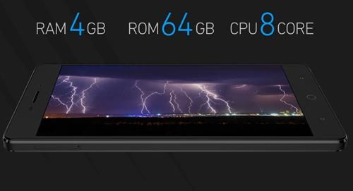 RAM 4GB、ROM 64GB、8コアCPU