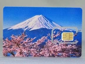 Prepaid SIM for Travel(富士山デザイン)の表面