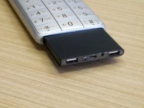 モバイルバッテリー(裏面)
