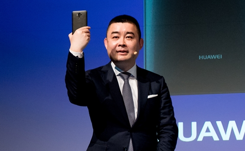 HUAWEI Mate 9の実機展示はなかった