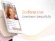 ASUS、ライブ配信特化の「ZenFone Live」、リアルタイムの美顔エフェクト付き