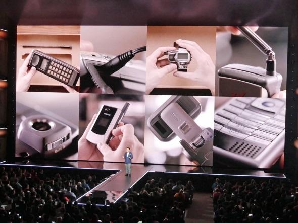 過去のSamsung携帯電話