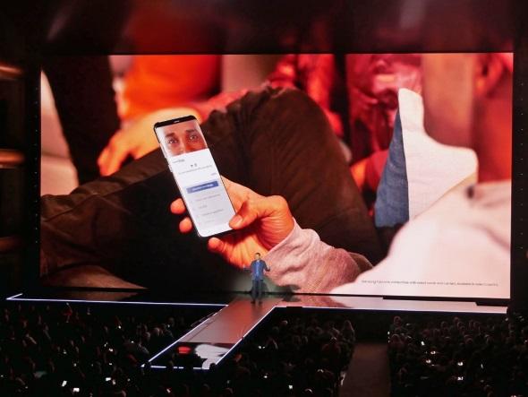 Samsung Payの虹彩認証
