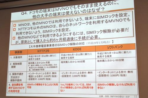 資料 Q4. ドコモの端末はMVNOでもそのまま使えるのに、他の大手の端末は使えないのはなぜ?