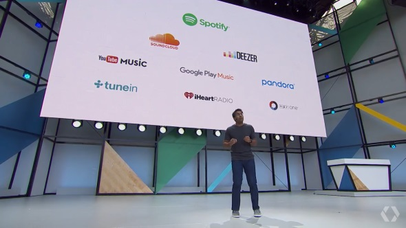 「Spotify」「Soundcloud」「Deezer」に対応