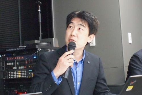 ケイ・オプティコム 上田晃穂氏