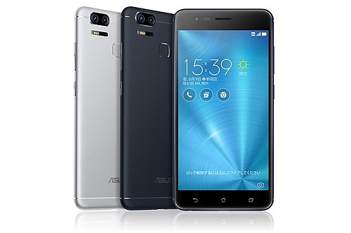 ASUSがデュアルレンズ搭載の「ZenFone Zoom S」を6月23日に発売