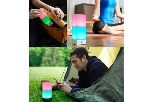 ルームランプとしてはもちろん、外で使用も可能
