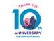 UQコミュニケーションズが創業10周年 「UQ10周年だぞっ!ありがとうキャンペーン」を開催