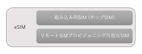 eSIMの意味