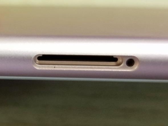 iPhone 7のSIMカードスロット