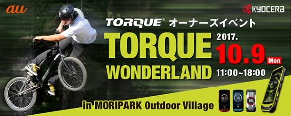 TORQUE WONDERLANDのバナー