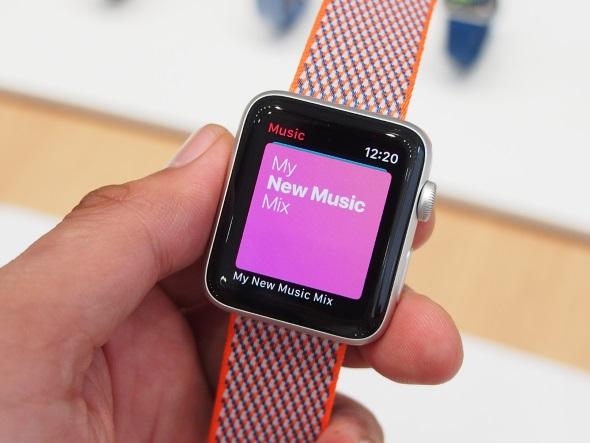 Apple Musicを使う図
