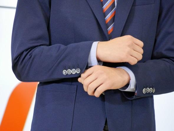伸縮性のあるジャケット