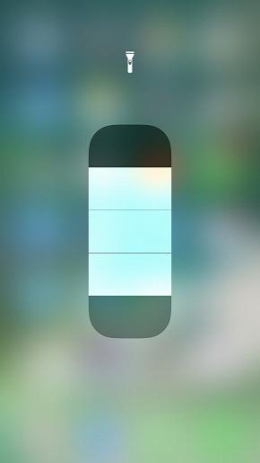 iOS 11コントロールセンター
