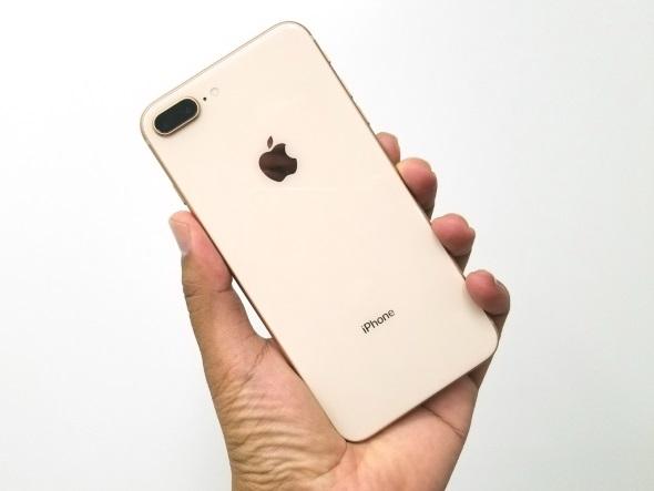 iPhone 8 Plus(ゴールド)