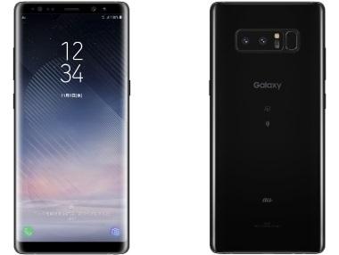 Galaxy Note8 SCV37(ミッドナイトブラック)
