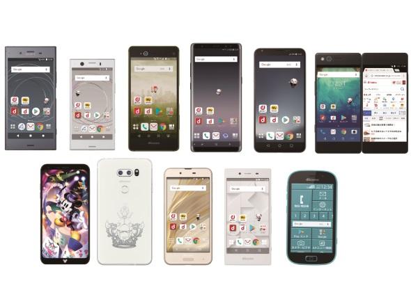 スマートフォンの新機種