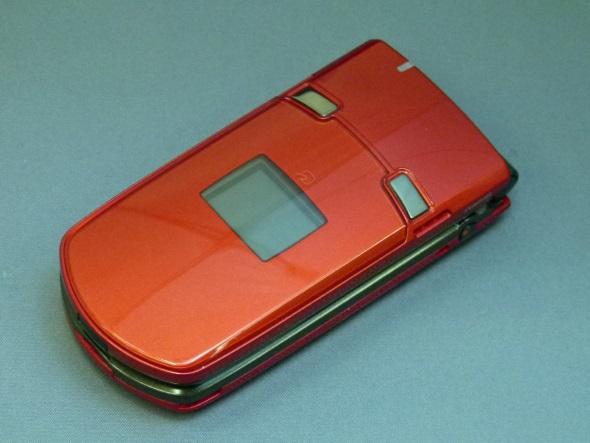 「N903i」(閉じた正面)