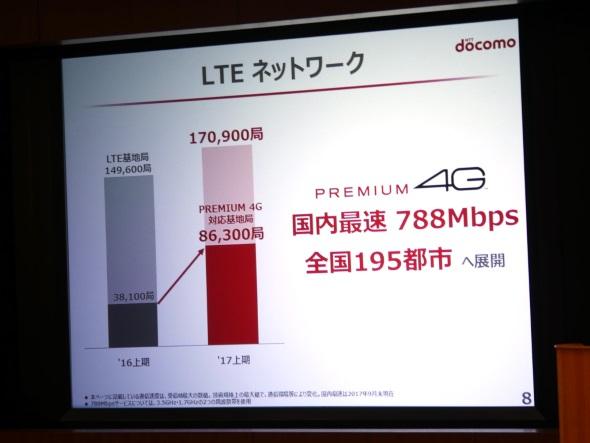 PREMIUM 4G基地局の進捗