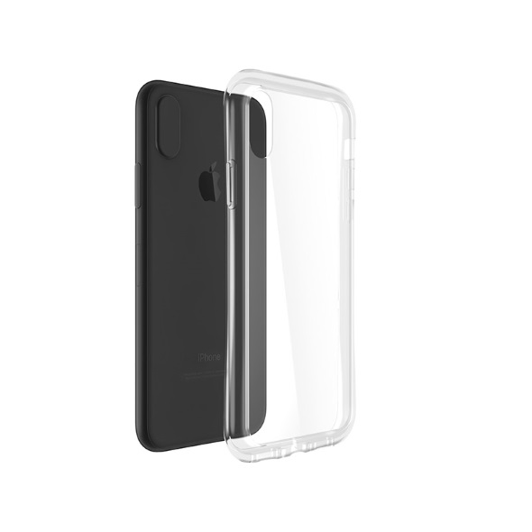 GRAMAS COLORS Glass Hybrid Case for iPhone X
