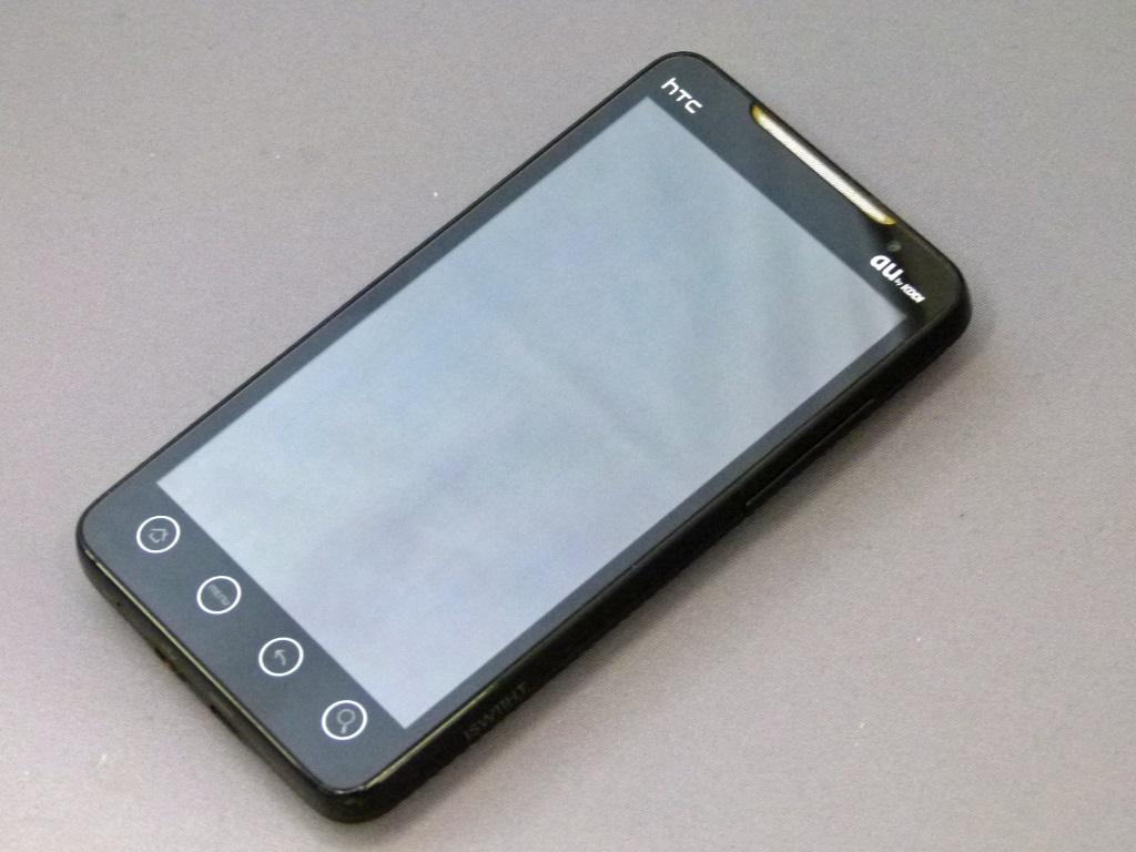 WiMAXとテザリングに初対応――ランニングコストも魅力だった「HTC EVO WiMAX ISW11HT」(懐かしのケータイ)