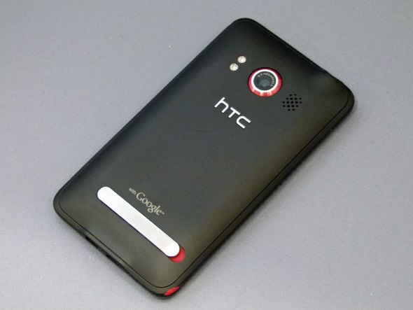 「HTC EVO WiMAX ISW11HT」(背面)